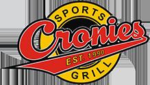 Sponsors - Cronies Sports Grill