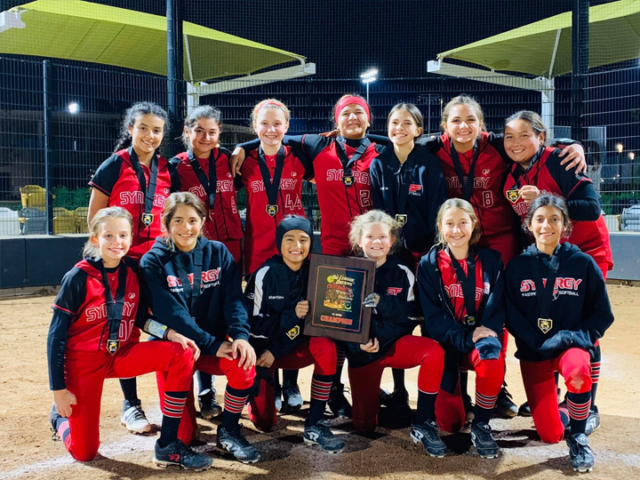 Synergy 12U – Richardson Brings Home Hardware at the TCS Big League Dreams Christmas Toy Drive